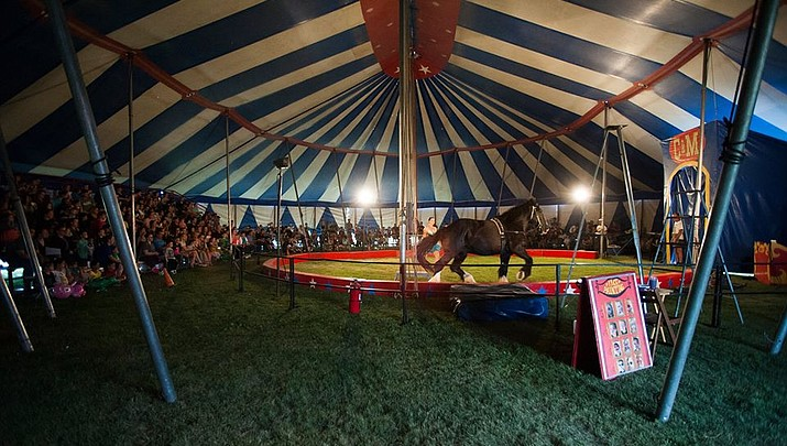Culpepper and Merriweather Circus in Williams tonight, April 17