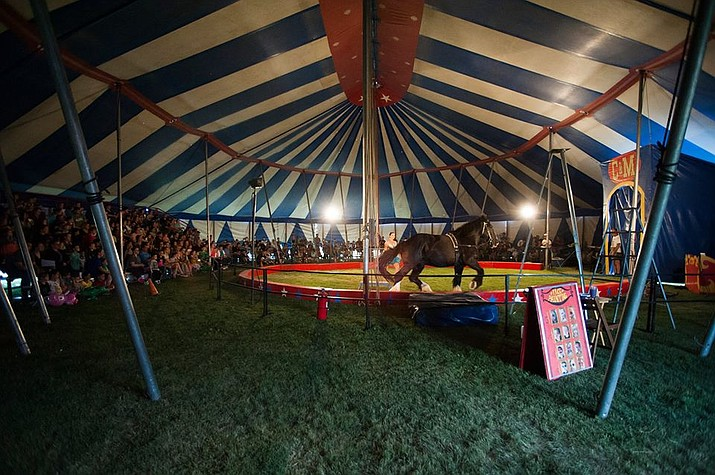 Culpepper and Merriweather Circus will be in Williams April 17. (Culpepper and Merriweather/photo)