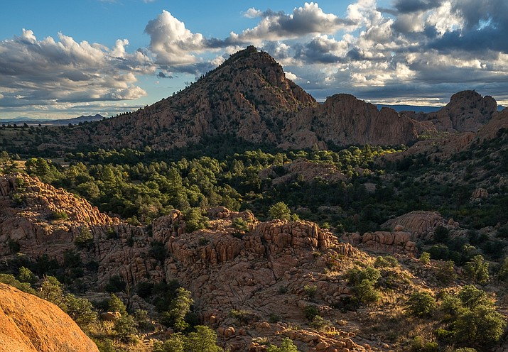 The southern section of Arizona Eco Development's annexation proposal centers on the Granite Dells area, including the iconic Point of Rocks. (Marc Strickland/Courtesy)