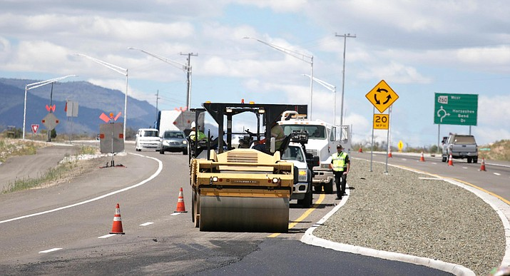 In October 2018, ADOT crews nearly completed a $62 million road widening and improvement project of SR 260 between I-17 and Thousand Trails Road. Wednesday, ADOT began the project's completion phase. VVN/Bill Helm