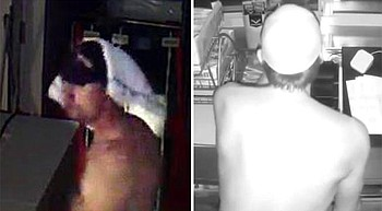 Deputies look for naked burglar who stole from Little League photo
