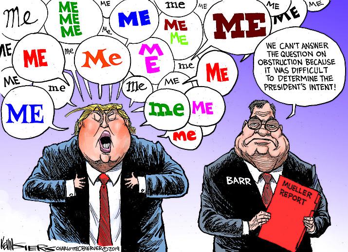 Editorial Cartoon (1): April 19, 2019