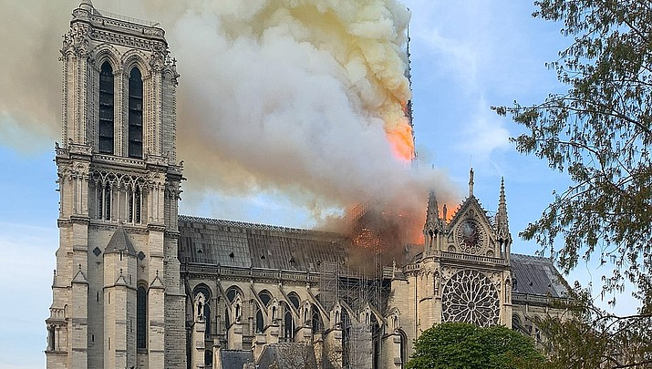 Commentary: Notre Dame fire reminds us treasures aren't forever