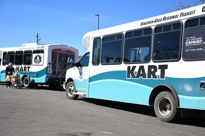 The return of the Kingman Street Drags will see a number of Kingman Area Regional Transit bus stops temporarily closed or relocated starting Monday, Oct. 21.  (Daily Miner file photo)