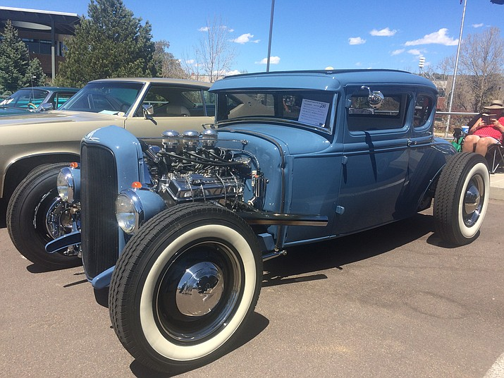 A 1930 Ford Five-Window Coupe  found at the eighth annual Cruise in for the Vets car show at Yavapai College Saturday, April 20. (Jason Wheeler/Courier)