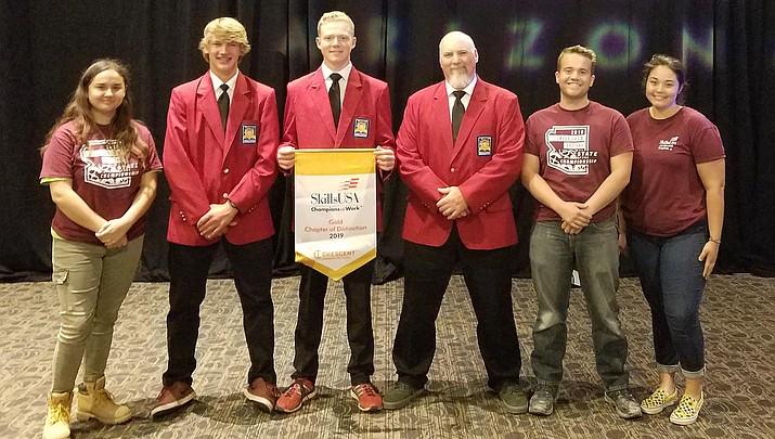 Valley Academy wins SkillsUSA awards