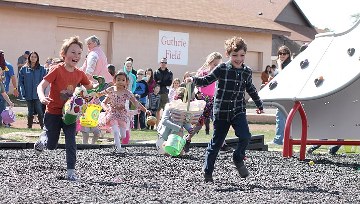 Every-bunny turns out for annual Rotary egg hunt