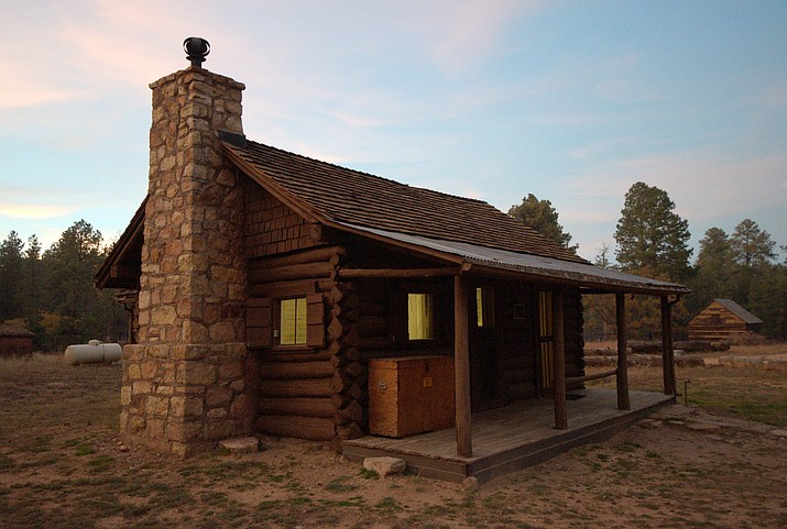 Hull Cabin, on Kaibab National Forest's Tusayan Ranger District, was built in the 1880s as part of a sheep ranch. (Photo/Kaibab National Forest)