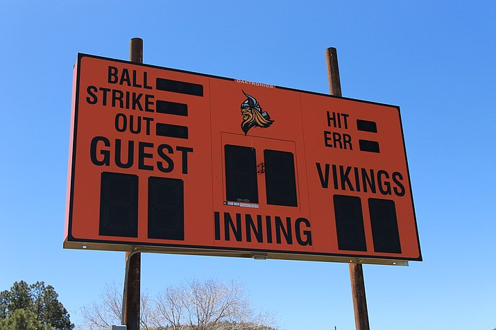 New scoreboards have been put up at the baseball and softball fields at Williams High School.  (Wendy Howell/WGCN)