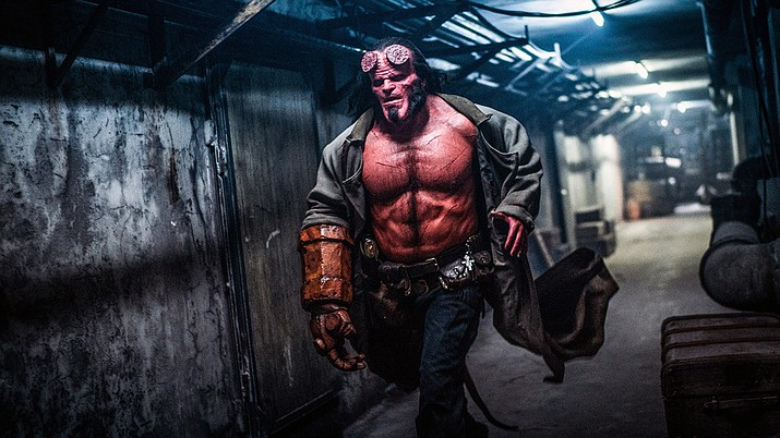 "Image from the movie ""Hellboy"" (Lionsgate)"