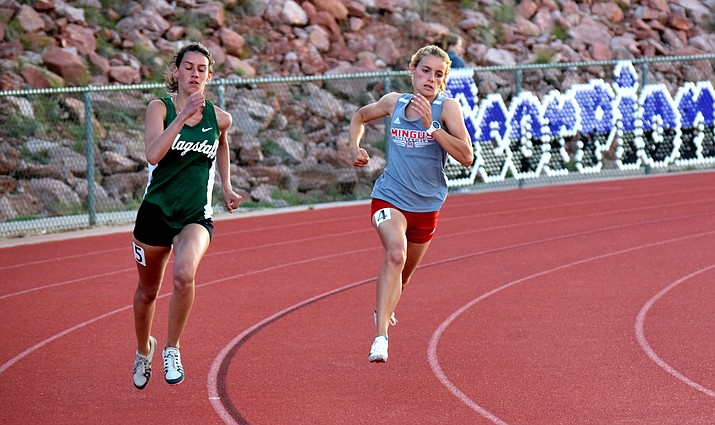 Mingus senior Meg Babcock qualified for State in six events. VVN/James Kelley