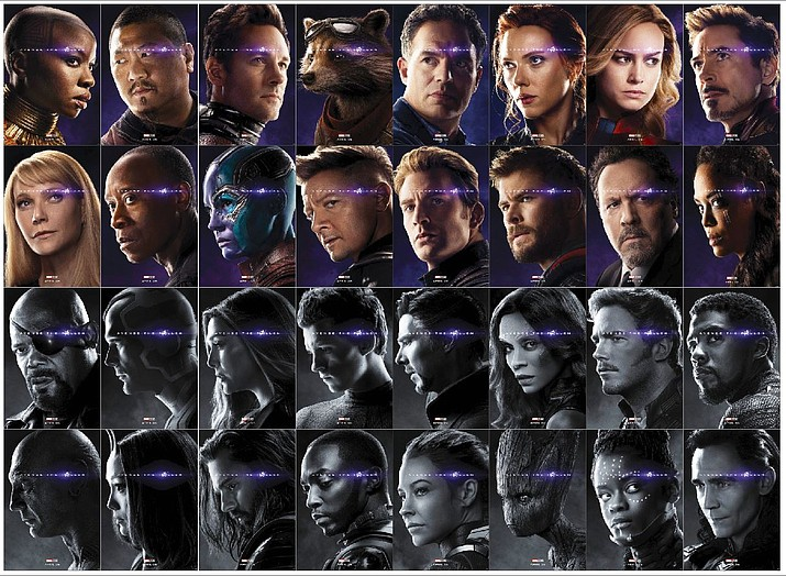 The characters of Avengers: End Game. (Marvel/Courtesy images)