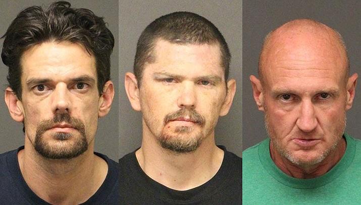 Ira Logan Fossum, Larry W. Bradshaw Jr., Kenneth Wade Martin