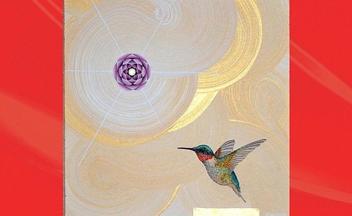 Hummingbird Of The Healing Heart by Nicholas Kirsten, Honshin - The Ascending Spirit Gallery