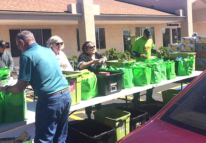 Supporters in the Village of Oak Creek led the collection efforts, gathering just less than half of the overall total, with 5,011 pounds of food collected from 318 food donors.