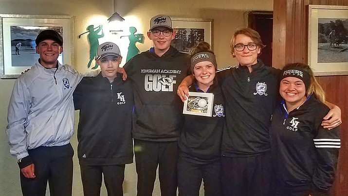 The Tigers took care of business Tuesday as their 106-over 394 was good for second  at the Section 5 mini match at Elephant Rocks Golf Course. (Courtesy)