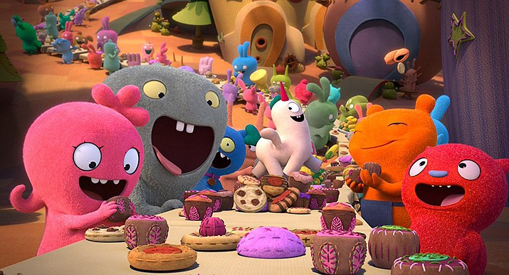 """UglyDolls"" is a perfect film to endure when you have the kids but have no energy for entertaining them. (Photo courtesy of UglyDolls.com)"