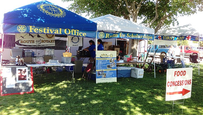 Kingman Festival of the Arts is once again slated for Mother's Day weekend. (Kingman Route 66 Rotary Club photo)