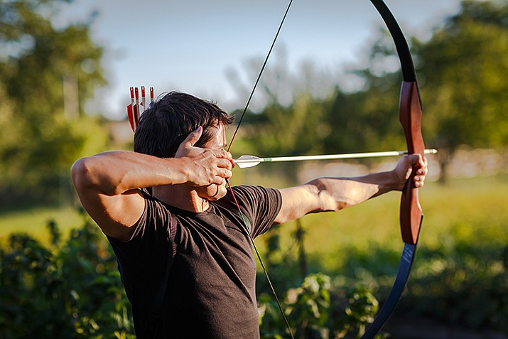 There will be 20 3D-targets set up at various distances and each team member will shoot one arrow at a target, and the best score of the team is counted. (Adobe Image)