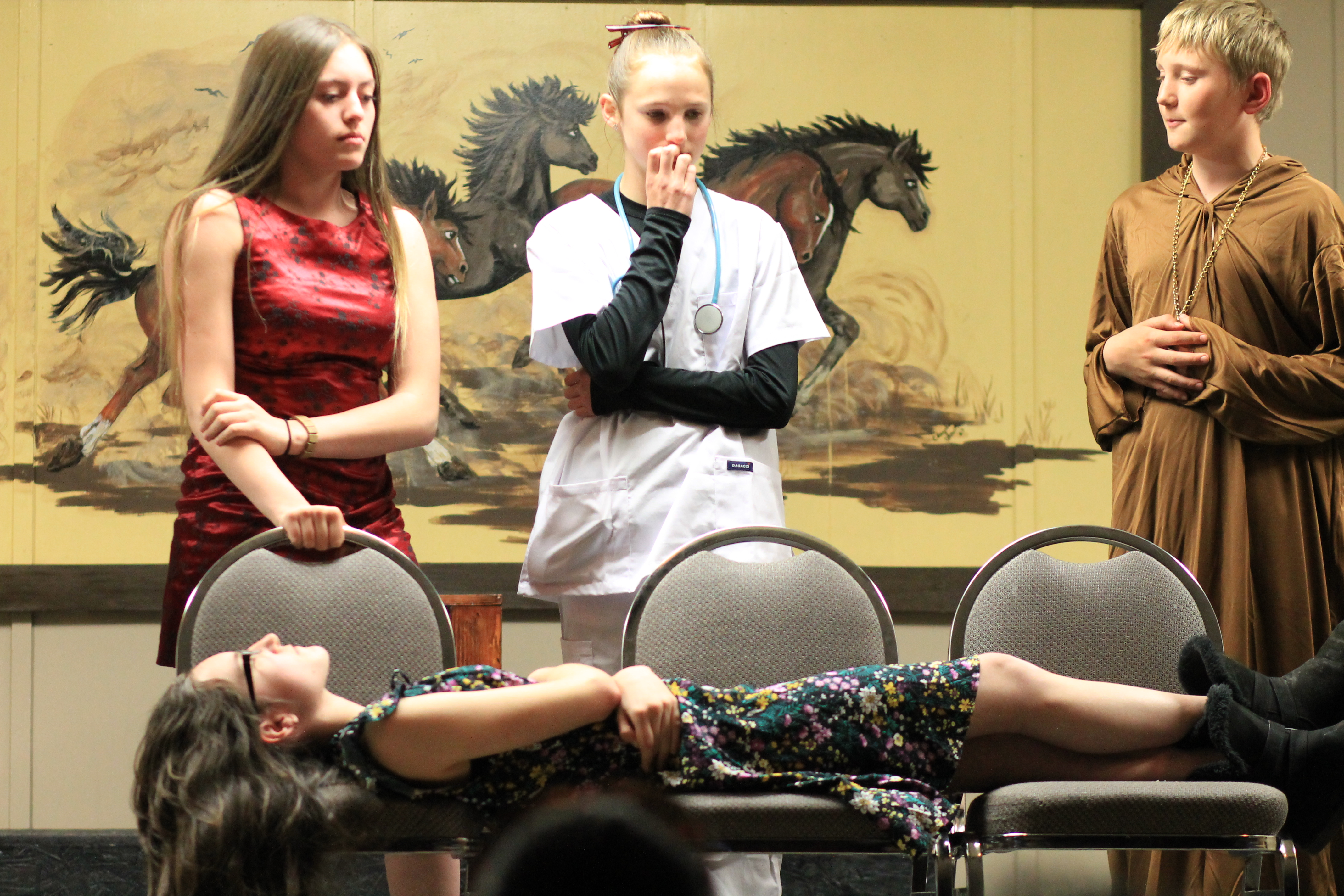 Maine Consolidated School Puts New Spin On Romeo And