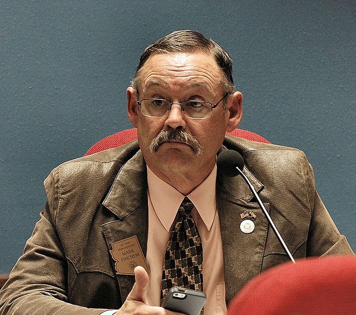 Rep. Mark Finchem. (Howard Fischer/ Capitol Media Services, file)