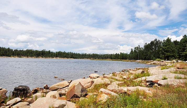 Willow Springs Lake is located around 24 miles from Heber-Overgaard, Arizona on the Apache-Sitgreaves National Forest. (Photo/USFS, Apache-Sitgreaves National Forest)