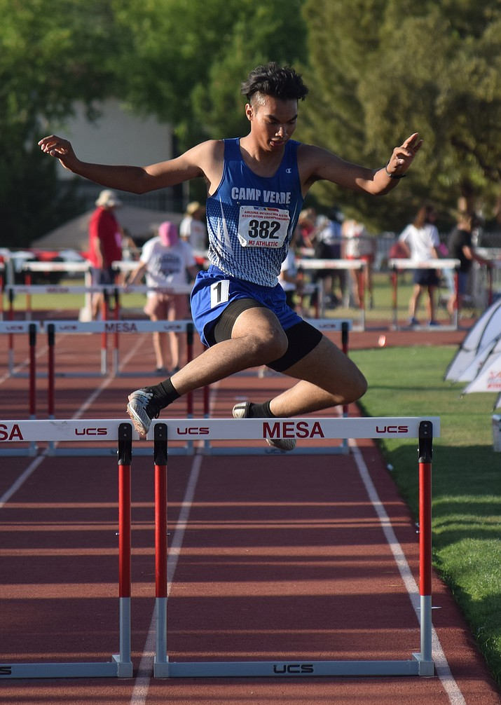 Camp Verde senior Christopher Holdgrafer finished in the top 10 in three events at State last week. VVN/James Kelley