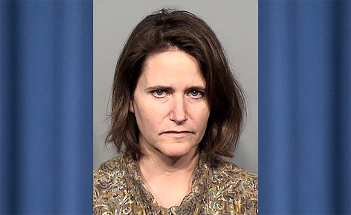 Stacey Hembree, 50, was arrested Tuesday, May 7, 2019, after more than 50 animals were found abused and neglected in her Cordes Lakes home. (Yavapai County Sheriff's Office/Courtesy)