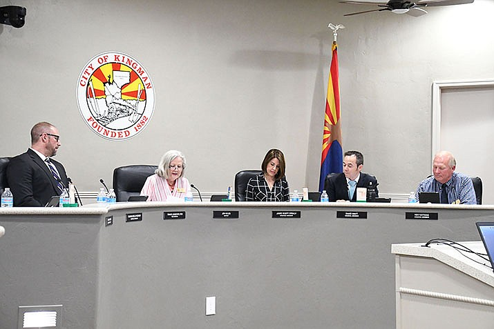 City Council approved to move forward with an intergovernmental agreement with NACFD to provide management services during its meeting on Tuesday, May 7, 2019. (Photo by Vanessa Espinoza/Daily Miner)