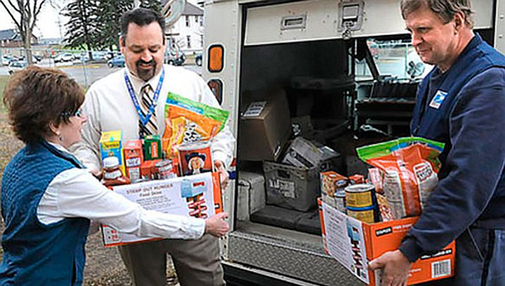 Help 'Stamp Out Hunger' food drive is Saturday, May 11