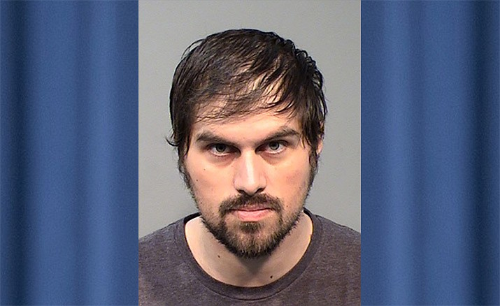 Jerimiah David King, 28, was arrested Thursday, May 2, for allegedly abusing a 15-month-old boy in Prescott on April 30. (Yavapai County Sheriff's Office/Courtesy)