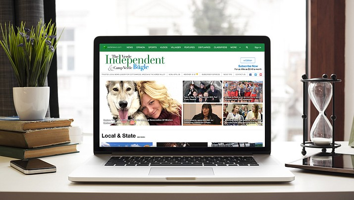 Beginning May 20, The Verde Independent and Camp Verde Bugle websites will feature a new look and simultaneously verdenews.com will become a subscription-based news delivery service. (Photo illustration/Verde Independent)