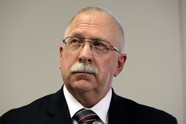 Arizona Department of Corrections Director Charles Ryan at a news conference Aug. 19, 2010, in Phoenix. (Ross D. Franklin/AP, File)