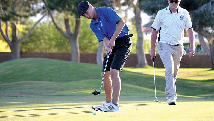 Kingman Academy junior Jake Scott shot a 19-over 165 during the two-day Division III State Golf Championship at the Catalina Course of the Omni Tucson National. (Courtesy)
