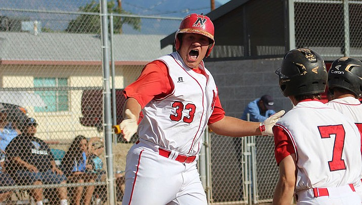 Matt Bathauer, above, was selected as 4A Grand Canyon Region Player of the Year for the second consecutive season. Twin brother Mike was named 4A Grand Canyon Region Offensive Player of the Year. (Daily Miner file photo)