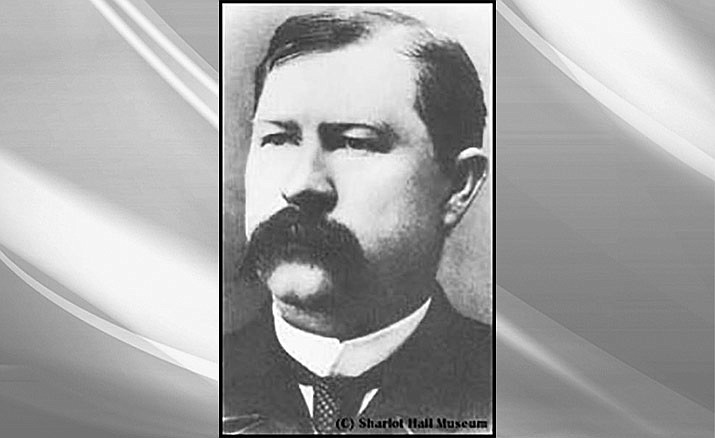 Image of Virgil Earp courtesy of  Sharlot Hall Museum Library & Archives, call # 1100.2018.0201