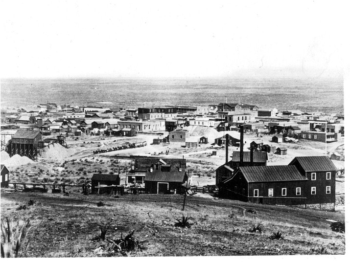 Tombstone circa 1881 (Courtesy Arizona Historical Society)