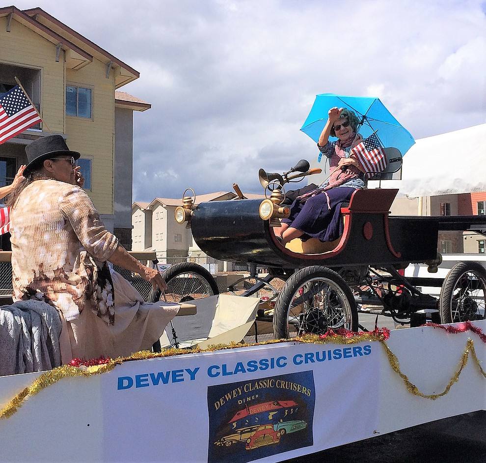 Dewey Classic Cruisers motored throught the Prescott Valley Days parade Saturday, May 11, 2019, during the Prescott Valley Days celebration. (Sue Tone/Courier)..