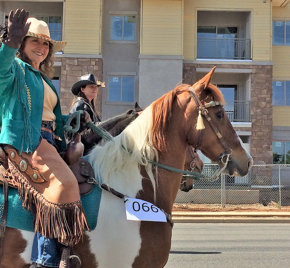 The parade also included entries on horseback Saturday, May 11, 2019, during the Prescott Valley Days celebration. (Sue Tone/Courier)..