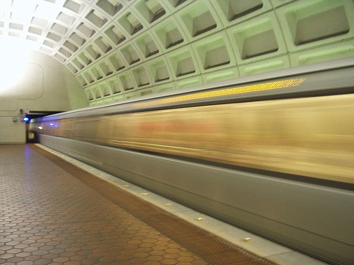 Officials with Washington Metropolitan Area Transit Authority have not responded about whether the employee faced any discipline for eating on a train. (Public Domain)