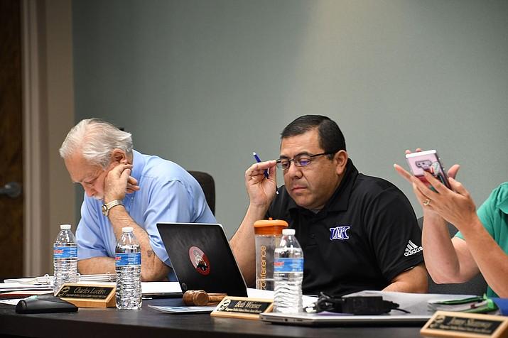 The KUSD governing board will discuss bond survey results regarding Palo Christi School. (Daily Miner file photo)