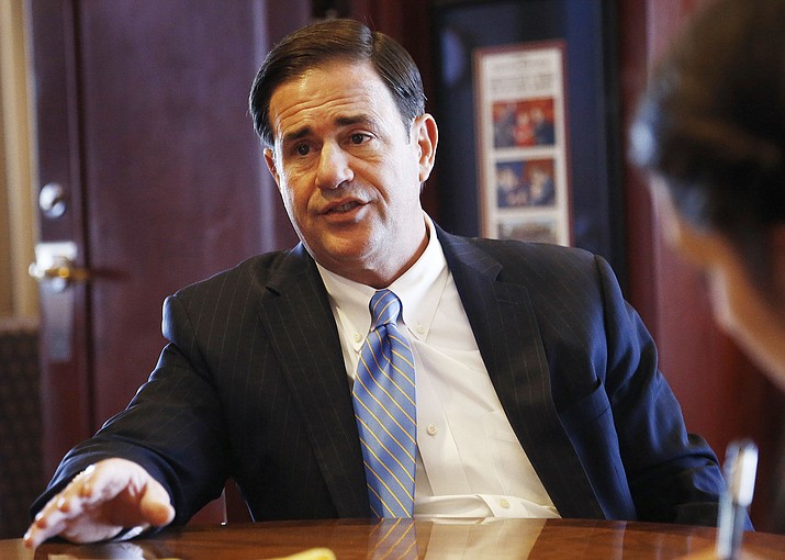 Arizona Gov. Doug Ducey. (Ross D. Franklin/AP, file)