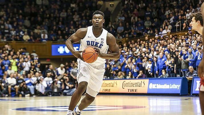 Nothing is set in stone yet, but Zion Williamson has an excellent chance of being selected No. 1 overall by the New Orleans Pelicans. (Photo by Keenan Hairston, CC by 2.0, https://bit.ly/2E9NWHs)