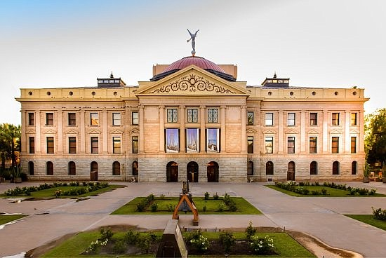 Arizona State capital building (Courtesy)