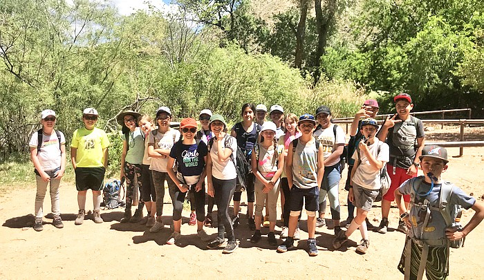 Trekking: Ash Fork students hike to Indian Garden