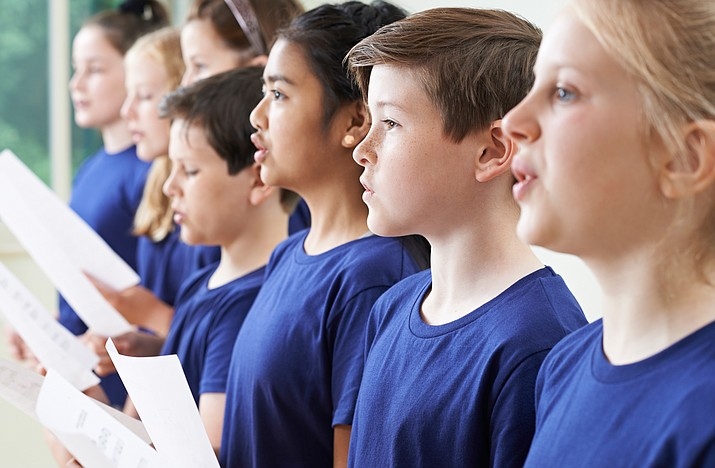 A new Children's Chorus is being organized by Melissa Lewis, a retired teacher from California. (Stock photo)