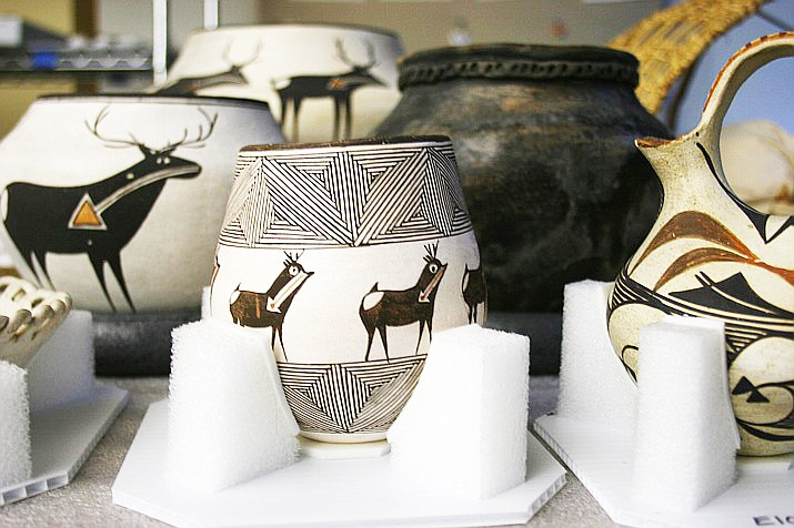 Examples of pottery from the museum's collection is on display at Museum of Northern Arizona's Native People of the Colorado Plateau. (Museum of Northern Arizona)