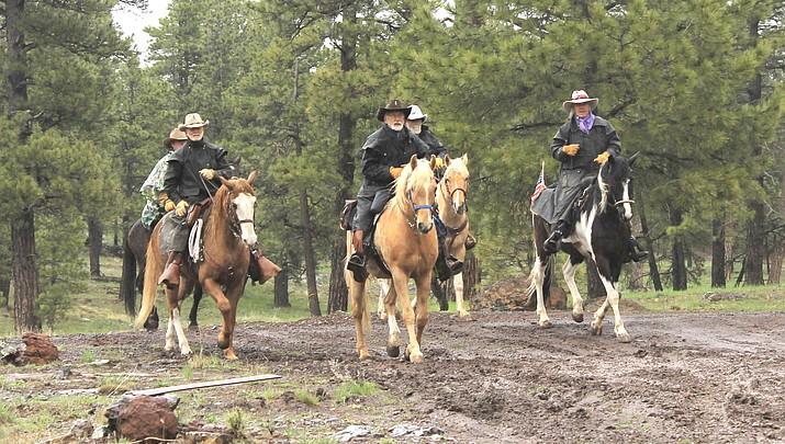 Bill Williams Mountain Men make annual 200-mile horseback ride