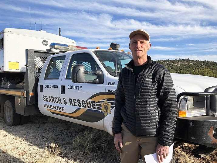 Coconino County Search and Rescue conducted seven search and rescue responses over seven days recently. Rex Gilliland is the commander of operations for CCSO. (Wendy Howell/WGCN)