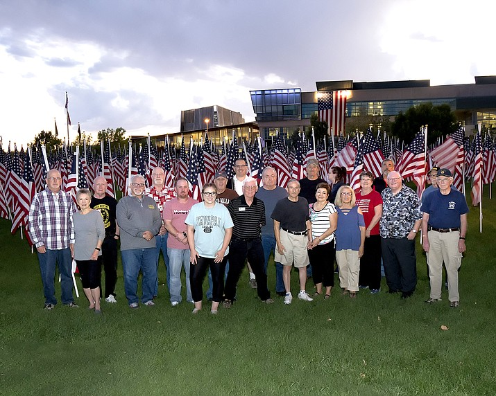 Participants of the 2017 Perscott Valley Police Department Citizen Police Academy outside the Prescott Valley Civic Center. (Prescott Valley Police Department/Courtesy)